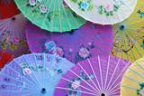 chinese parasols poster
