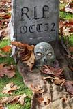 grave marker poster
