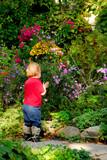 toddler garden poster