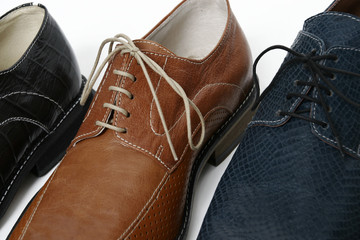 male shoes detail