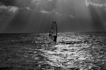 windsurf dopo la tempesta