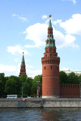 tower of the kremlin. moscow.
