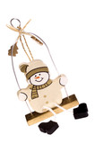 a toy figure of snowman poster