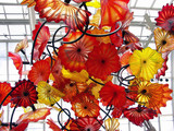 chihuly exhibit in new york botanical garden poster