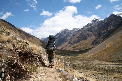 hiking in the cordilleras