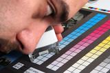 print production color menagement poster