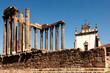 Leinwandbild Motiv portugal, alentejo, evora: temple of diana