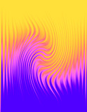 wavy patterned abstract background poster