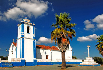 portugal, alentejo: chapel near evora
