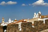 portugal, alentejo: magnificent village of monsaraz poster