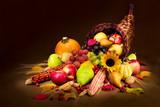 Fototapety autumn cornucopia
