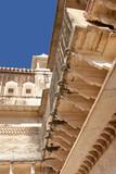 architectual details - indian palace (jaipur) poster