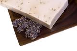 lavender soap. spa poster