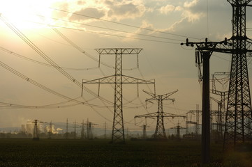 power-transmission pole