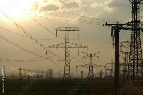 power-transmission pole