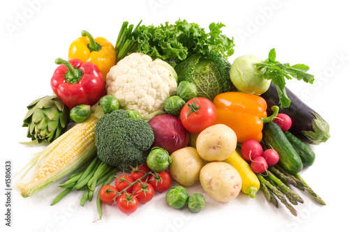 Fotobehang Groenten vegetables