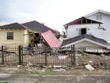 houses damaged by hurricane katrina poster