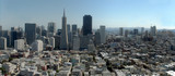 san francisco large panorama from coit tower poster