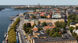 view from royal palace tower, stockholm, sweden poster