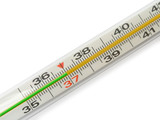 scale of thermometer - 37 poster