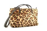 leopard purse poster