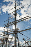 mast and sail-yards
