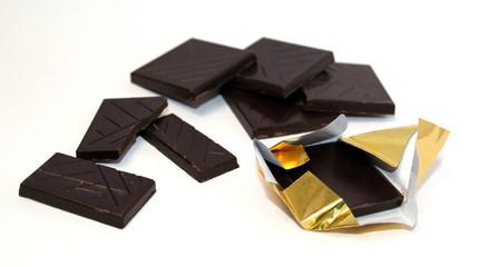 carré de chocolat 5 gr