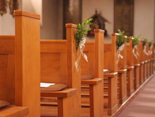 eglise prete pour le mariage