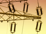 high voltage line poster