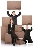 business moving services poster