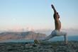 hatha-yoga: virabhadrasana
