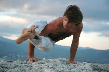 hatha-yoga: ashtavakrasana #2