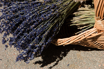 lovely lavender petals