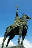 portugal, porto, se cathedral: statue poster