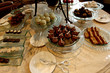 high tea: cakes and biscuits