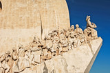 portugal, lisbon: monument to the discoveries poster