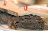 brisket sandwich poster