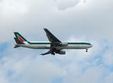 boeing 767-300 long range jet poster