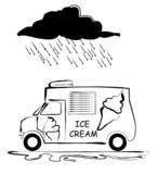 icecream van poster