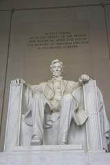statue von abraham lincoln, lincoln memorial
