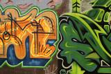 vivid graffiti poster