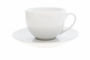 white coffe cup