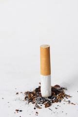 cigarette butt