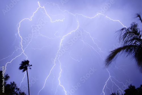 lightning thunder monsoon storm