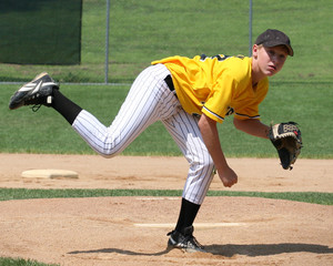 baseball boy pitching