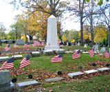 patriotic cemetery 4 poster