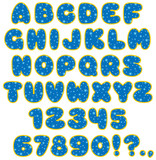 funny children's font poster