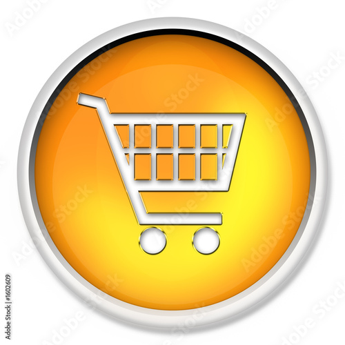 shopping cart icon. shopping cart, button, icon,