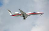 embraer erj-145 regional jet poster