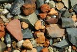 rocks along the shore poster